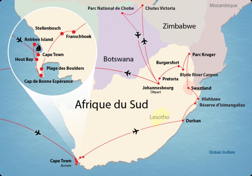 Exceptionnel Passion Afrique du Sud - 2 au 23 mars 2018 QO22