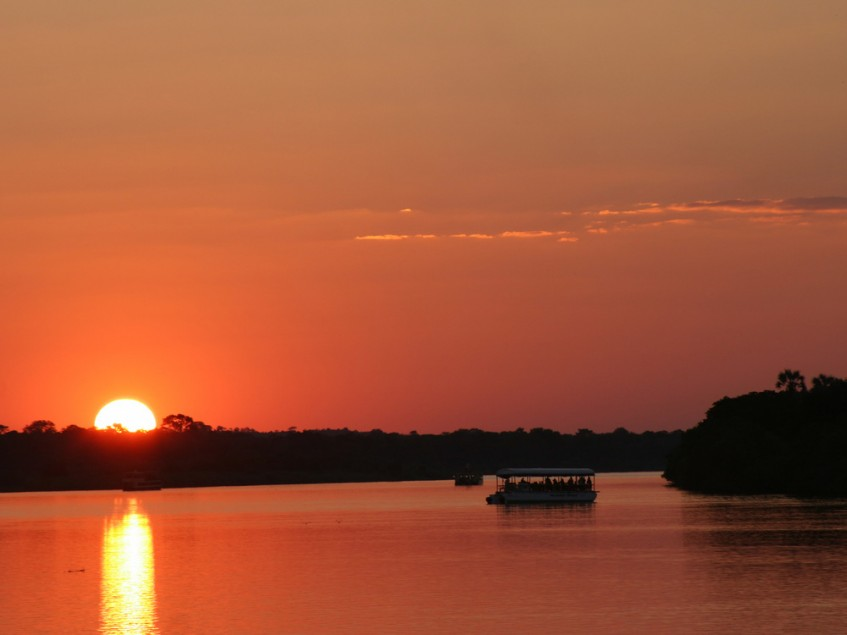 Johannesbourg - Chutes Victoria - Zimbabwe