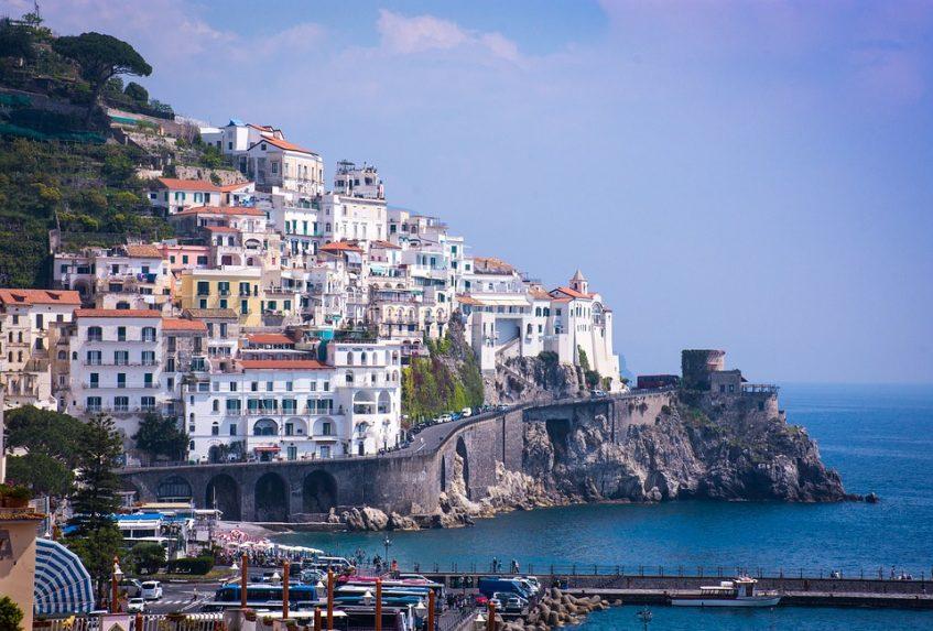 Golfe de Naples -  Côte Amalfitaine - Golfe de Naples (PD/D/S)