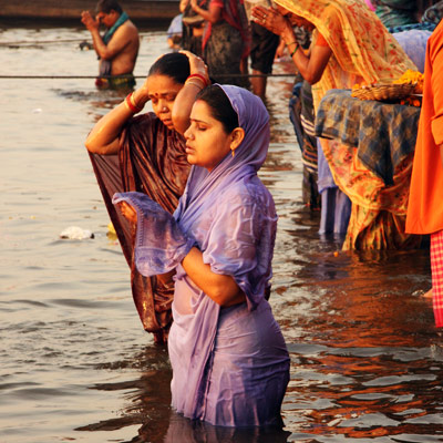 Khajuraho – Varanasi (vol)