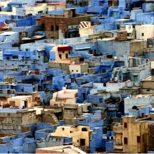 Ville bleu, Jodhpur, inde