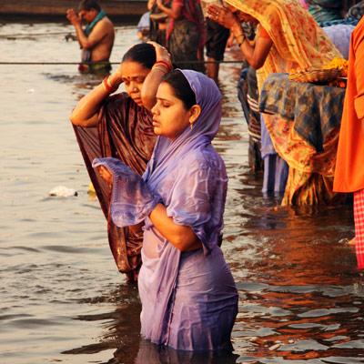 Khajuraho - Varanasi (vol)