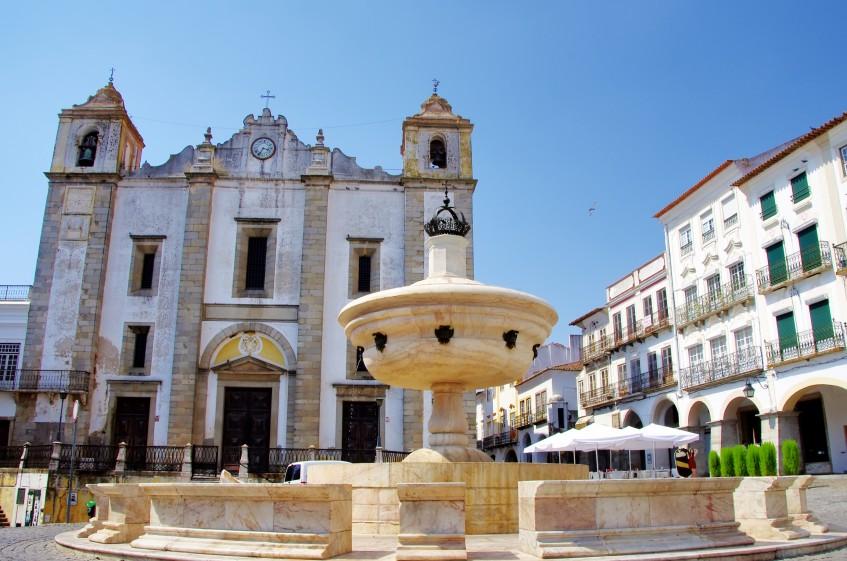 Lisbonne - Evora - Mérida (PD/D/S)