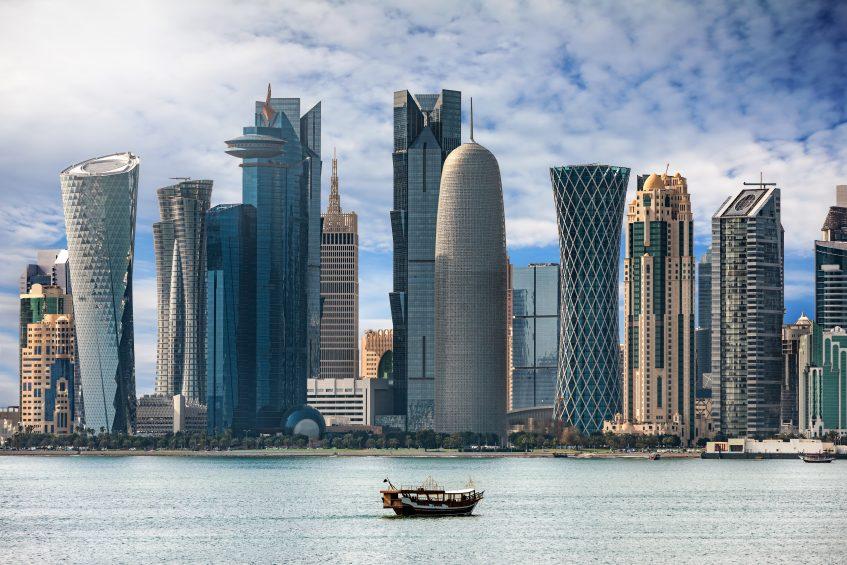 Arrivée à Doha
