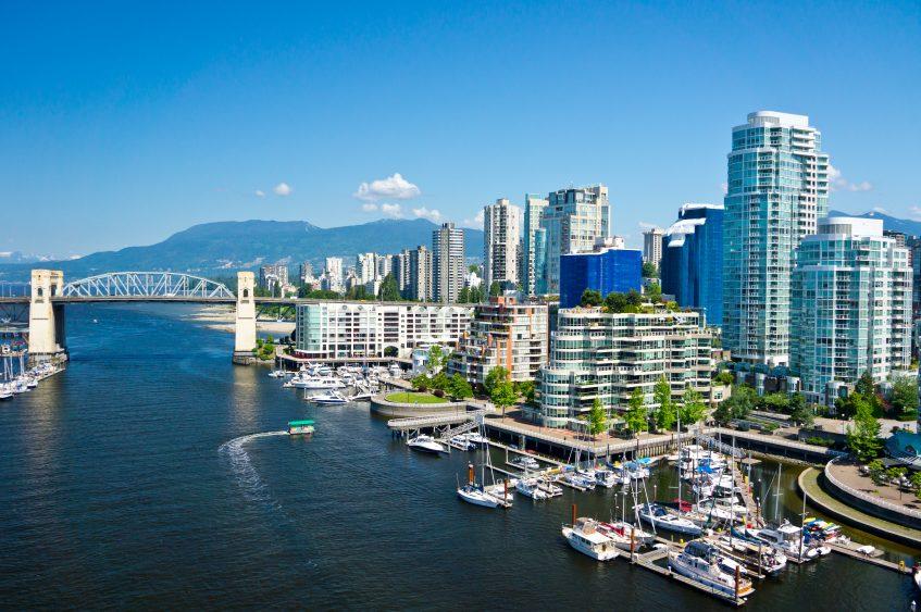 Vancouver - Transfert au port de Vancouver