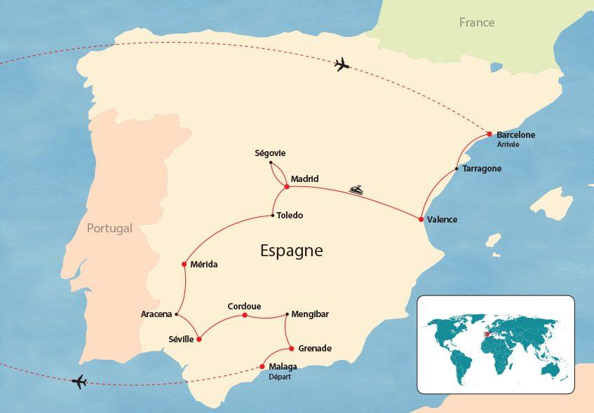 Itinéraire