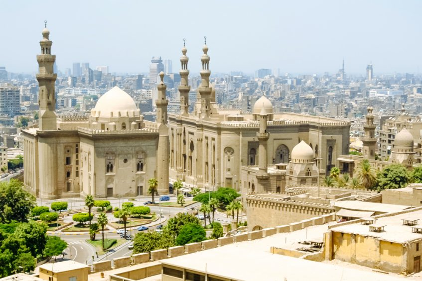 Arrivée au Caire