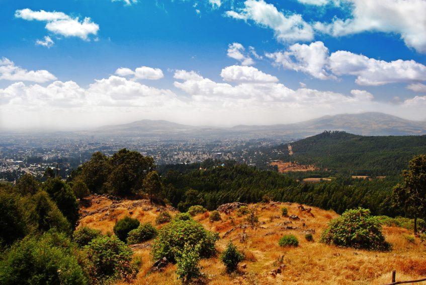 Arrivée à Addis-Abeba