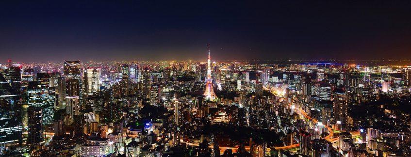 Arrivée à Tokyo