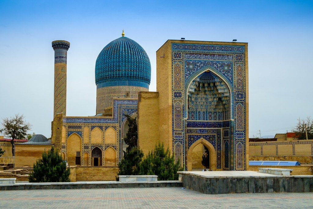 Ouzbékistan boat