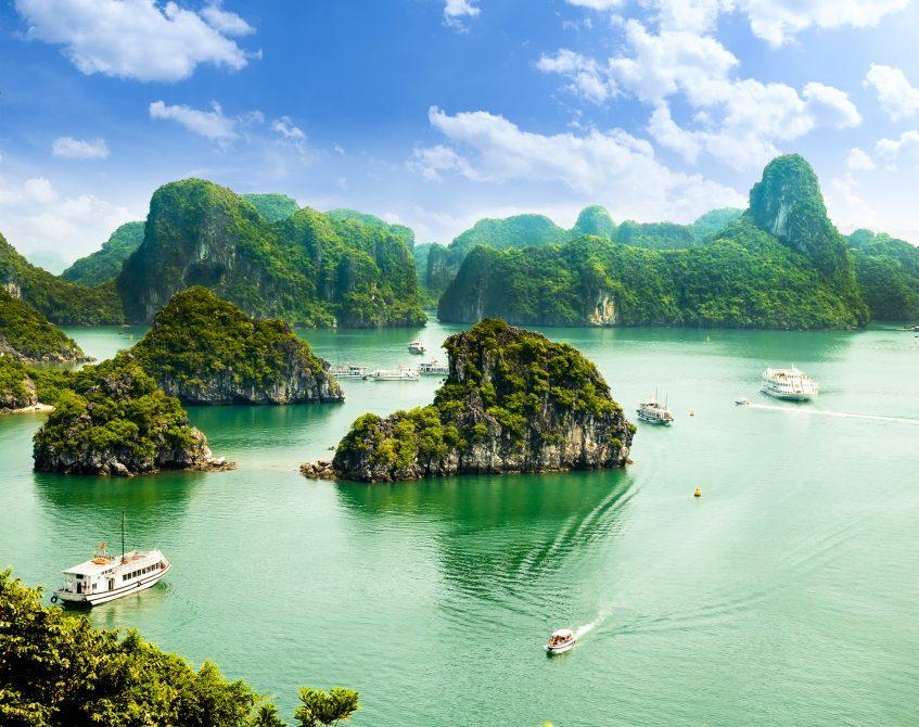 Baie d'Halong - Croisière