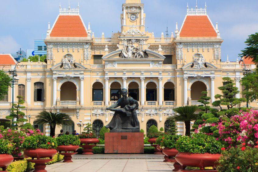 Arrivée à Ho Chi Minh