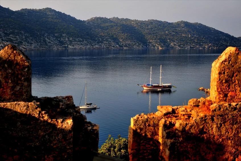 Kaş  Île de Kekova - Kaş