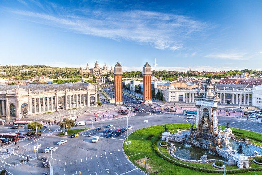Arrivée à Barcelone