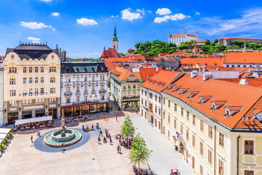 Budapest  Bratislava - Vienne