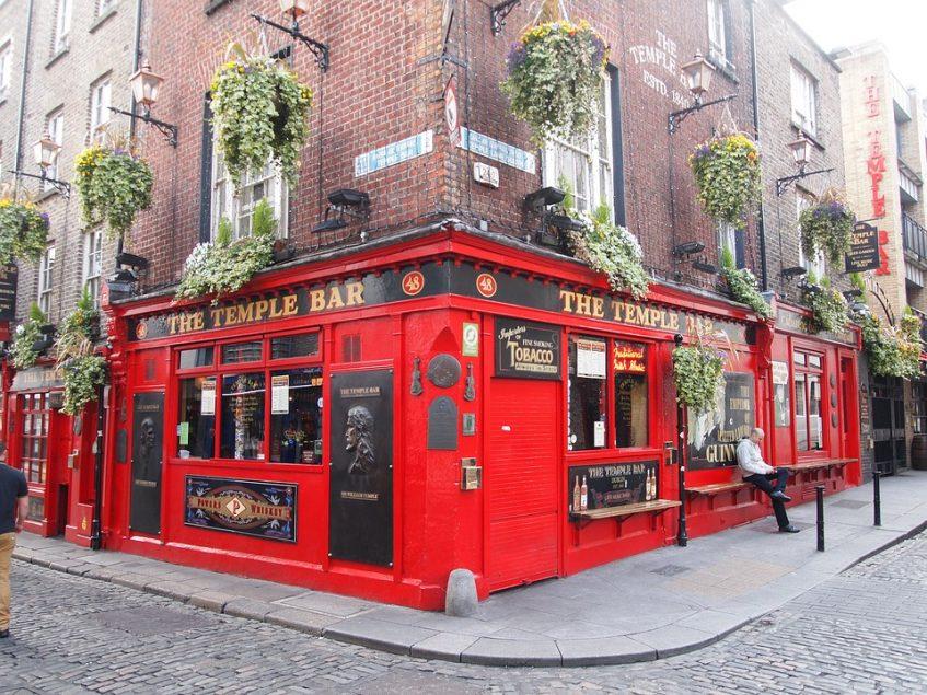 Arrivée à Dublin