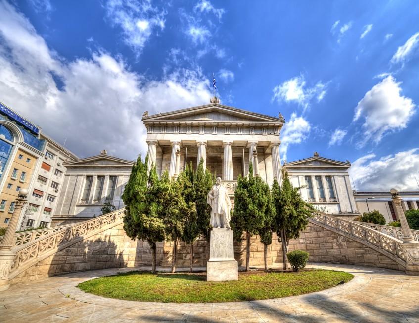 Arrivée à Athènes