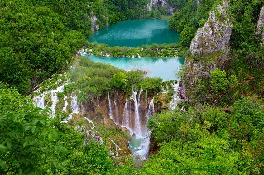 Porec - Rastoke - Parc National Plitvice