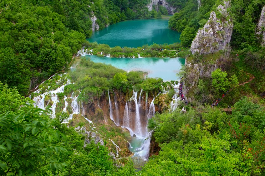 Porec  Rastoke - Parc National Plitvice
