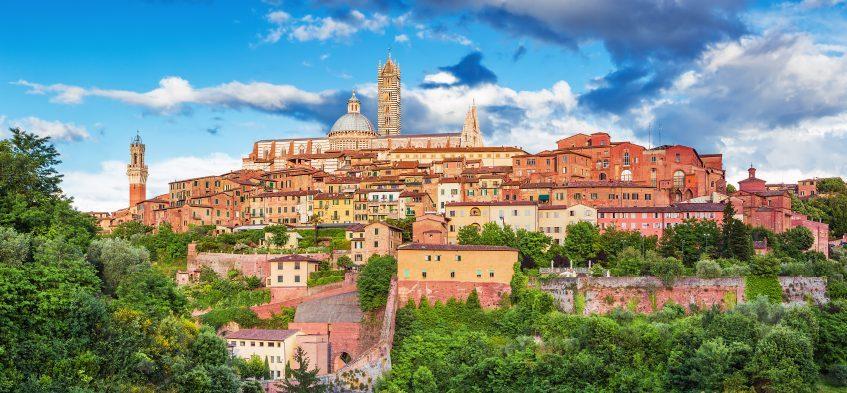 Montecatini - Monteriggioni - Sienne - Rome