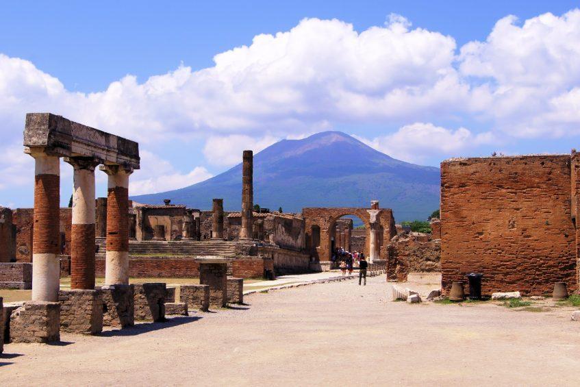 Rome - Pompéi et Vésuve - Golfe de Naples