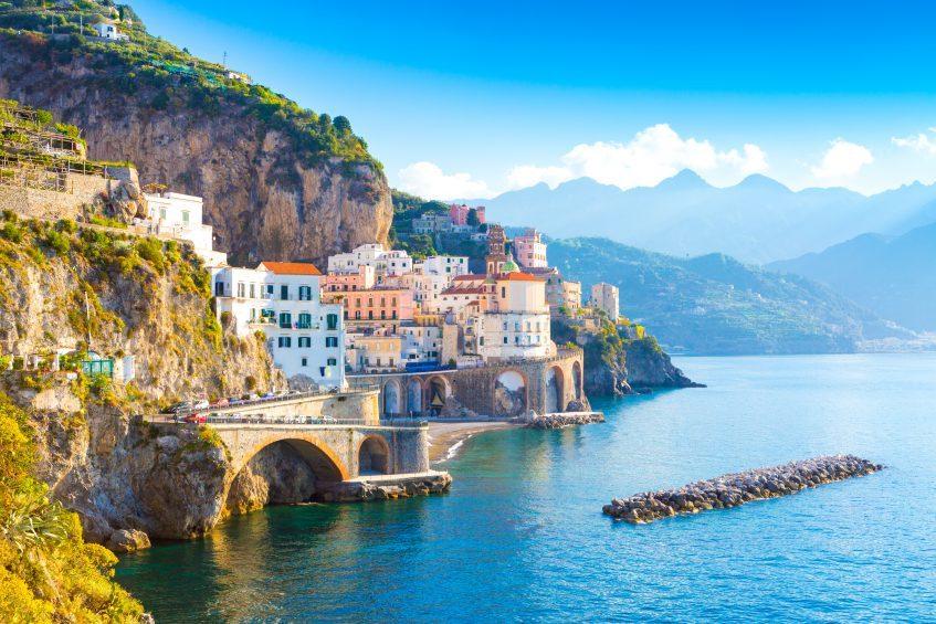 Golfe de Naples - Côte Amalfitaine - Rome