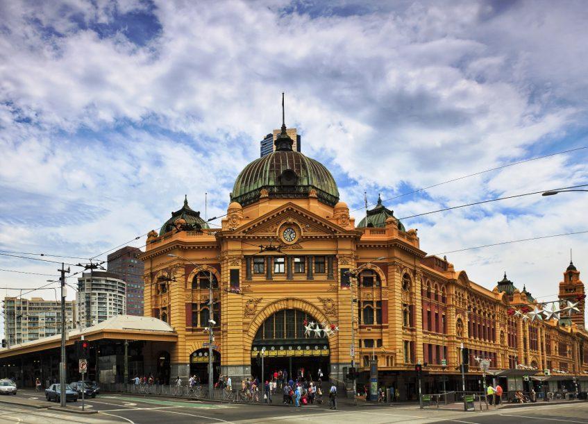 Arrivée à Melbourne
