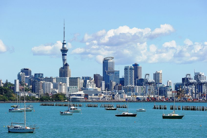 Melbourne - Auckland (vol)