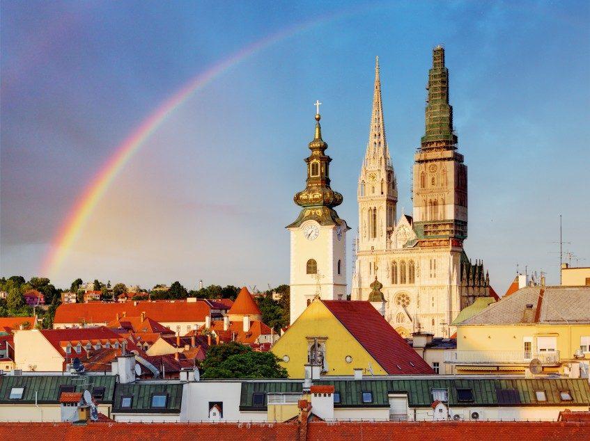 Arrivée à Zagreb