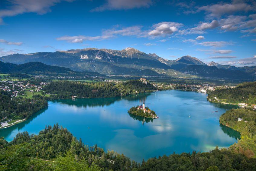 Zagreb - Bled (Slovénie) - Ljubjana