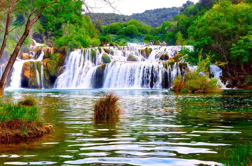 Parc national Krka  Sibenik - Trogir - Région de Split