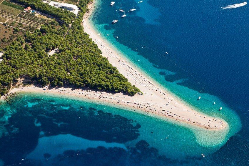 Split - ferry île de Brac - Région de Split