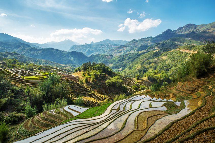 Sapa Ma Tra Ta Phin  Route vers Hanoi