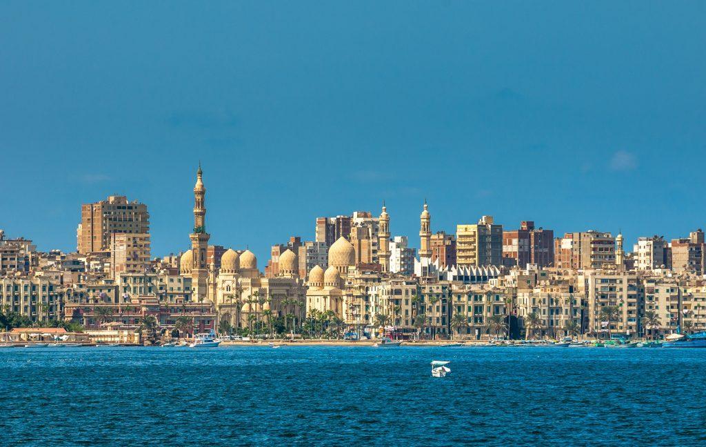 Hurghada  Le Caire (vol) - Alexandrie