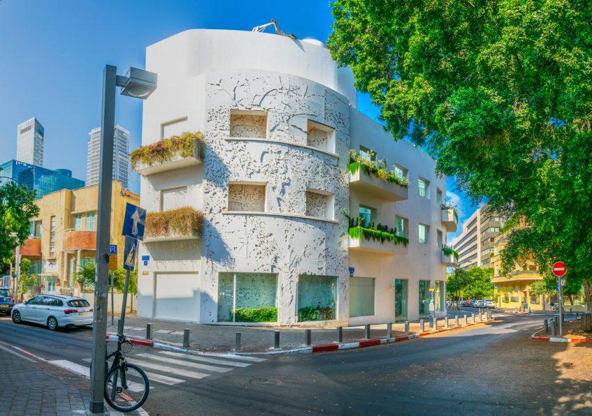 Arrivée à Tel Aviv