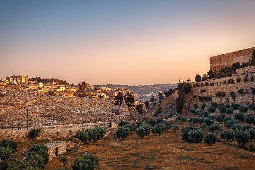 Jérusalem - Mont des Oliviers et Mont Sion - Jérusalem
