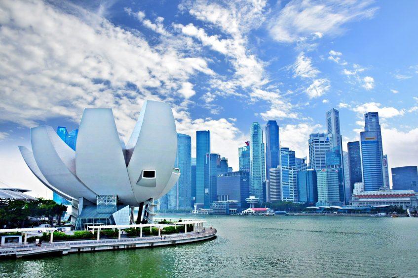 Arrivée à Singapour