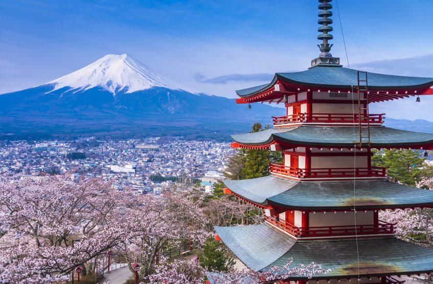 Mont Fuji (Port de Shimizu) (Japon)