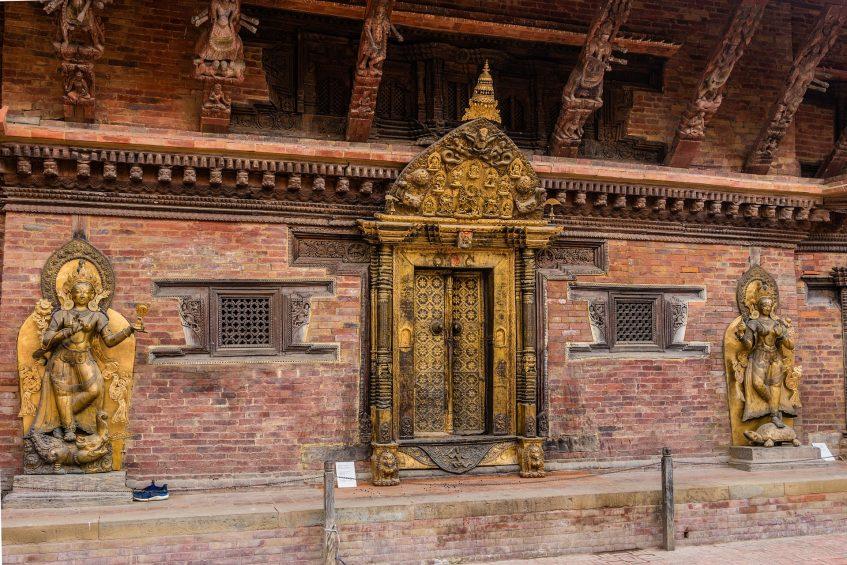 Bhaktapur - Katmandou - Delhi (vol)