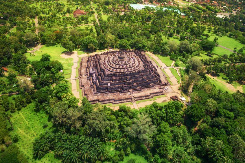 Yogyakarta - Temple de Borobudur