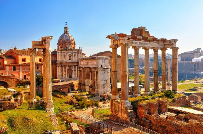 Golfe de Naples  Rome Antique