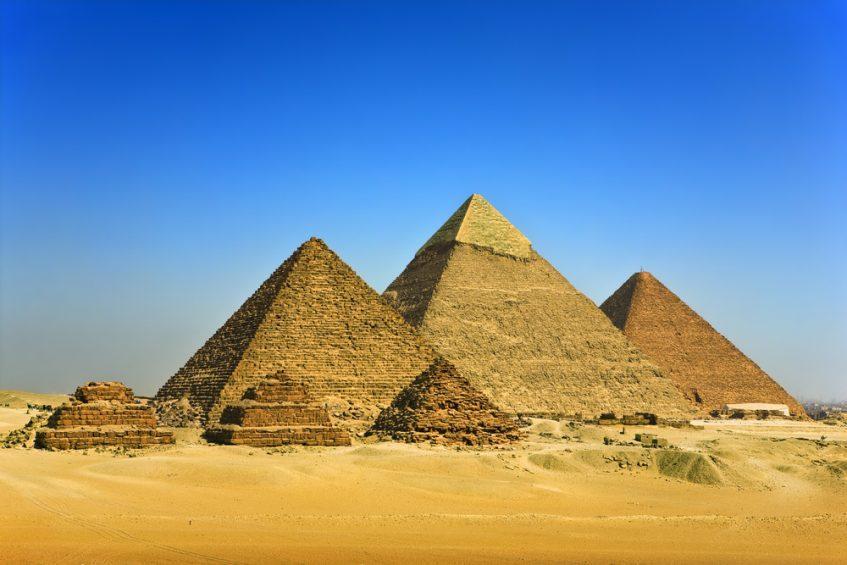 Le Caire  Visite privative intérieure de la pyramide de Kheops et la chambre funéraire