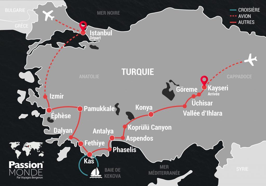 Turquie map