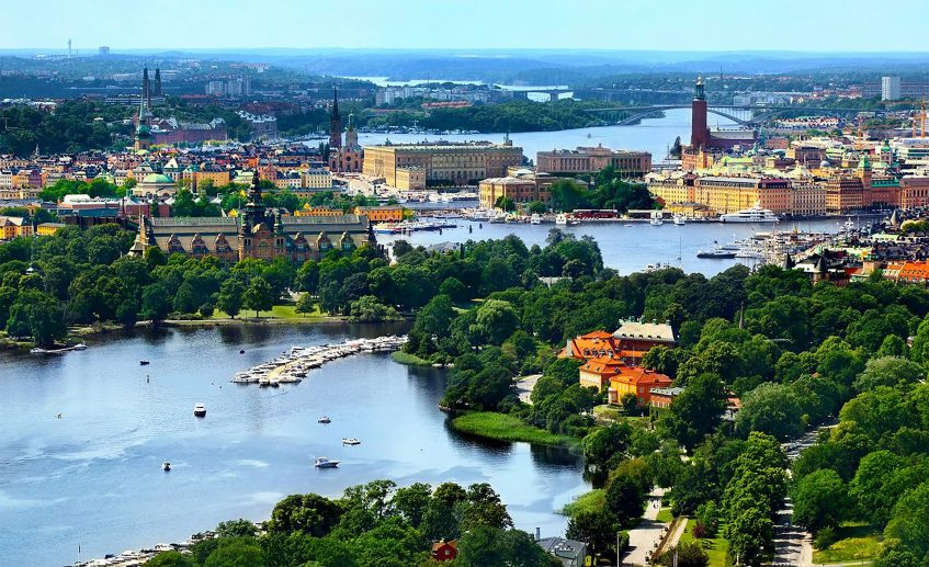 Arrivée à Stockholm