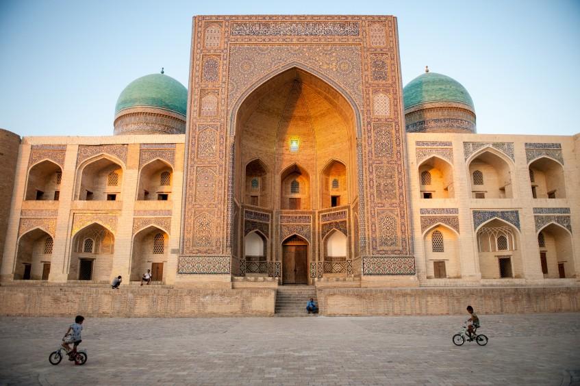 Arrivée à Tachkent