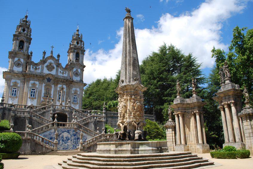 Vila Real - Pinhao - Peso de Régua - Lamego - Viseu