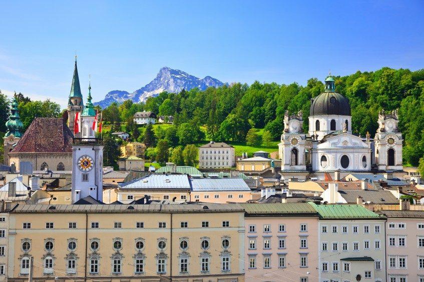 Vienne  Salzbourg