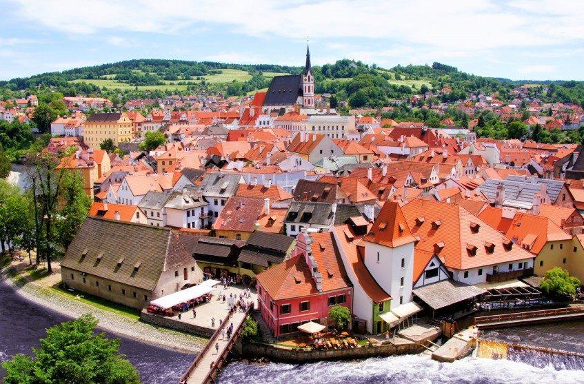 Salzbourg  Cesky Krumlov - Prague