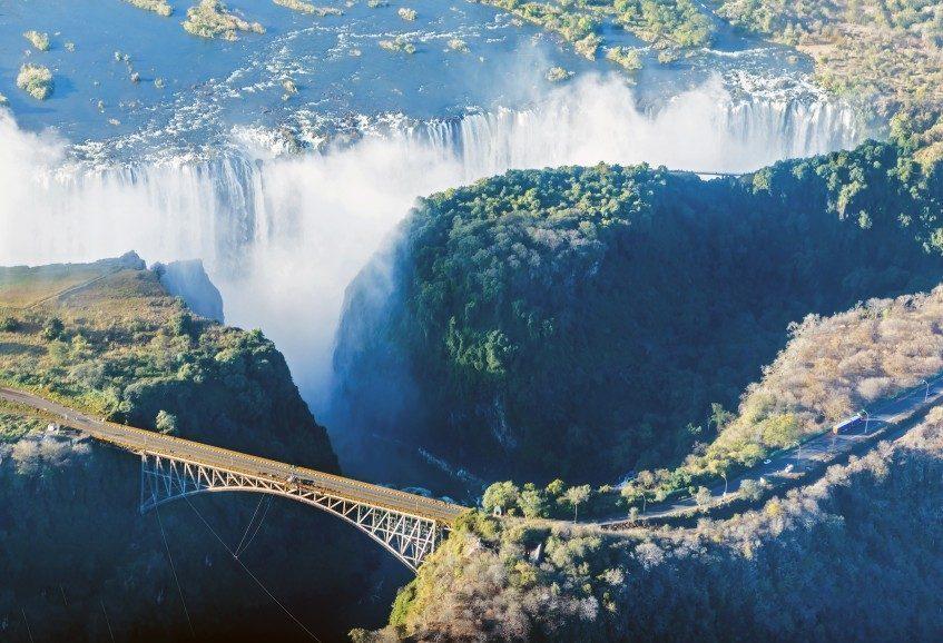 Johannesbourg - Chutes Victoria - Botswana