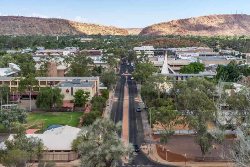 Alice Springs - Melbourne (vol)